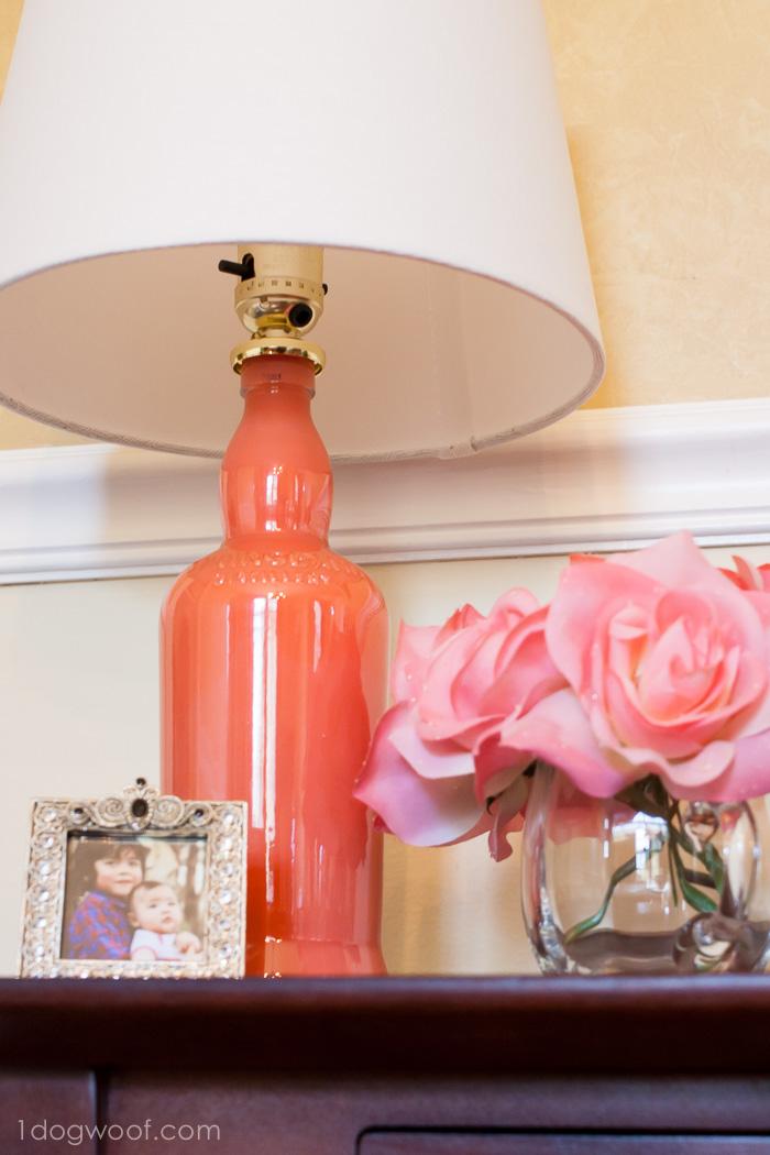 DIY Painted Lamp Upcycle  BigDIYIdeascom