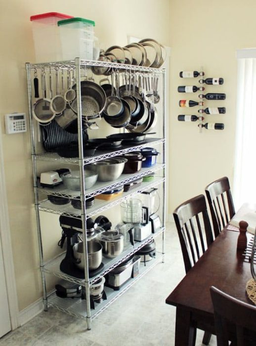 big lots kitchen appliances cabinets used 40 clever storage ideas for a small