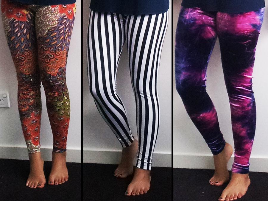 DIY Crazy Leggings