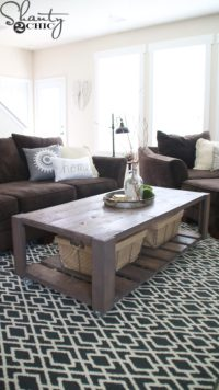 42 DIY Ideas for Coffee Tables to Make You Say Wow!