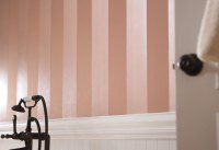 Paint Vertical Stripes - BigDIYIdeas.com