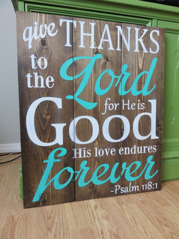 Psalm Bible Verse Sign  BigDIYIdeascom