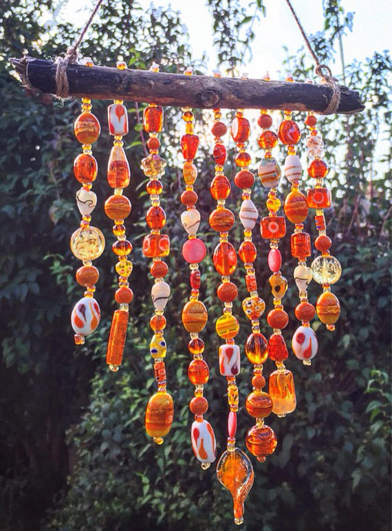 Glass Bead Wind Chime  BigDIYIdeascom