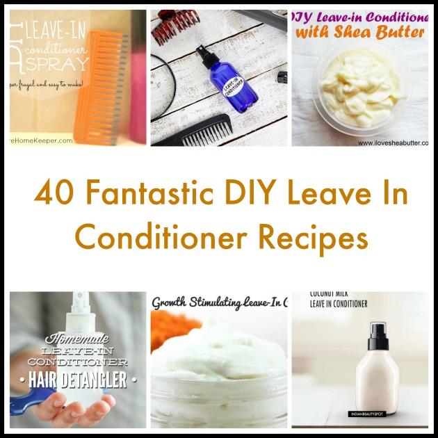 40 Fantastic Diy Leave In Conditioner Recipes