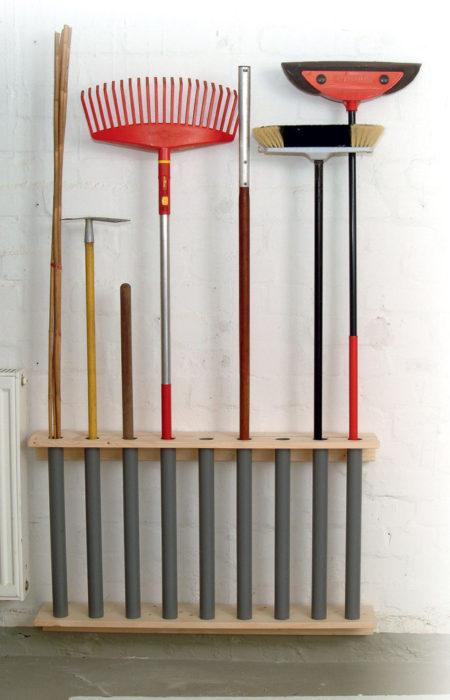 Build Garden Tool Rack