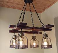 Rustic Light Fixture