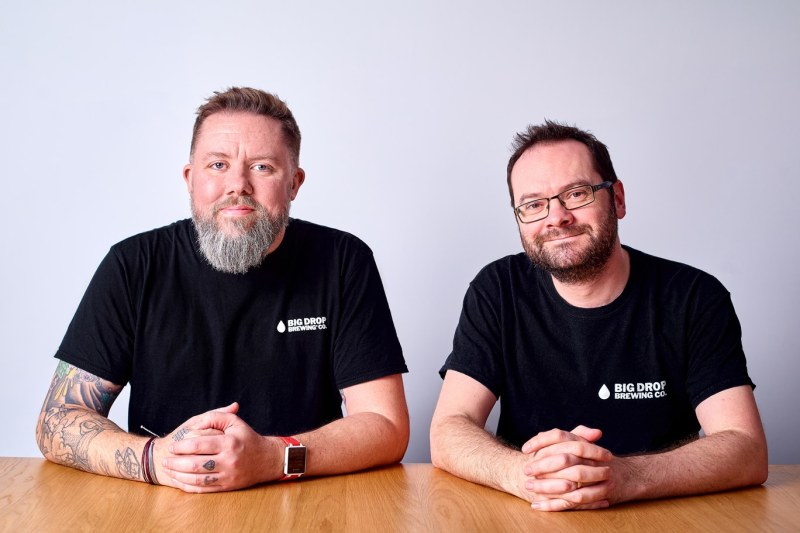 The founders of Big Drop - Rob and James