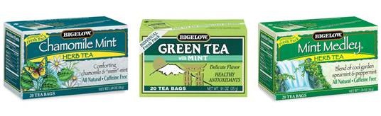 Bigelow Tea Understands the Healing Power of Mint