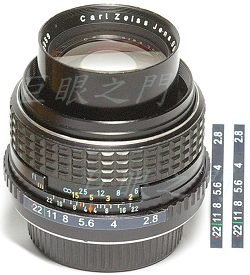 Carl Zeiss Jena Tevidon 100mm f2.8 改 Nikon 接環(種鏡)