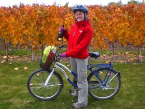 bisikletle şarap turu