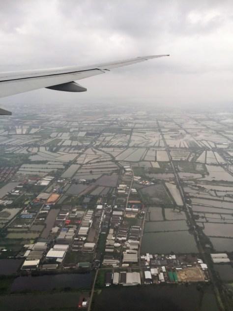 Tayland bizi yağmurla karşıladı