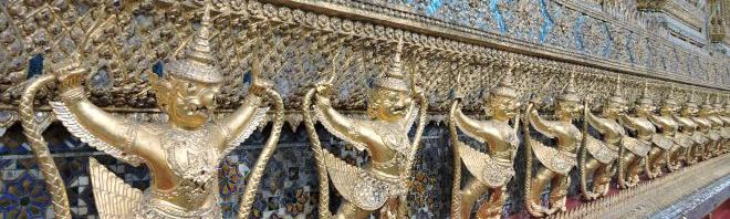 BANGKOK'TAKİ TAPINAKLAR
