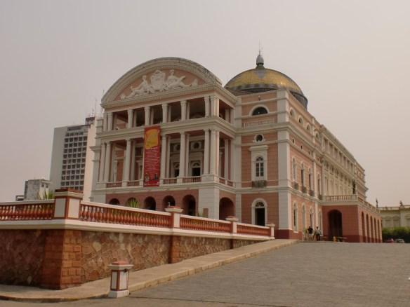 manaus opera binası