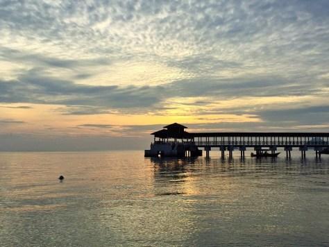 perhentian adası gün batımı