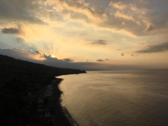 bali'de günbatımı