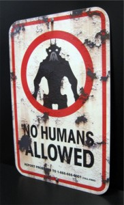 District 9 sign
