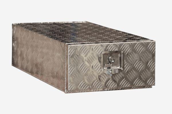 coffre aluminium 1 tiroir 35l dimensions 450 x 960 x 240 mm