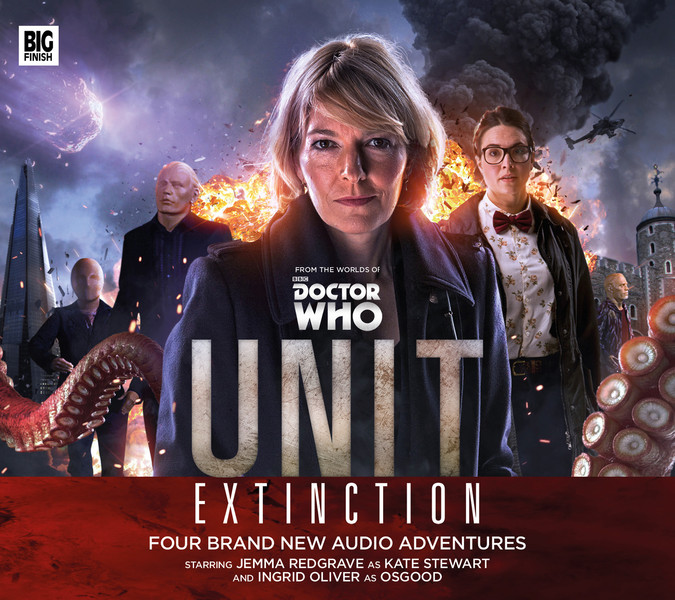 Doctor Who: UNIT - Extinction Cover