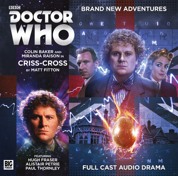 Doctor Who: Criss-Cross Cover