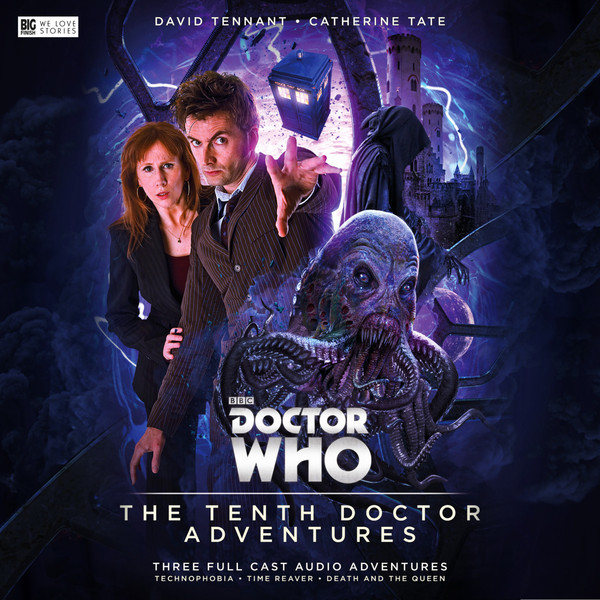 Doctor Who: The Tenth Doctor Adventures Vol. 1 Cover