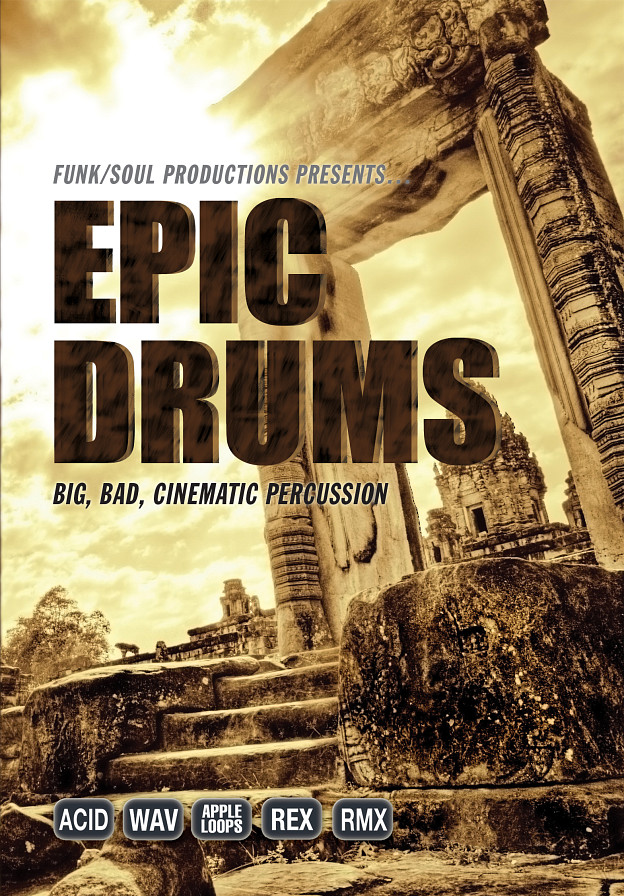 Epic Drums: A collection of high-energy, cinematic drum and rhythm beds.