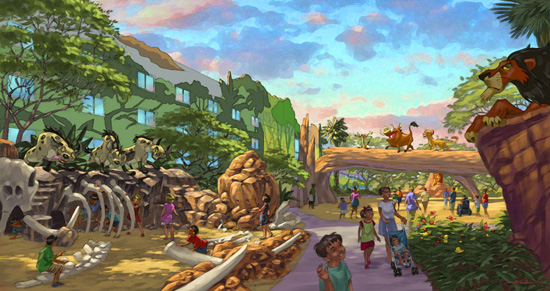 Art Of Animation Resort At Walt Disney World