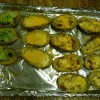 Recipe: Yummy Baked Potato Skins (veganizable)