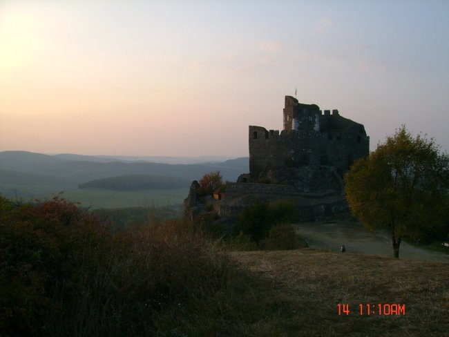 fortress in hungary