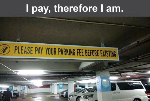 Existential-Parking-Fees