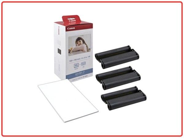 Canon KP-108IN - Carta fotografica e cartuccia colore per stampante Selphy