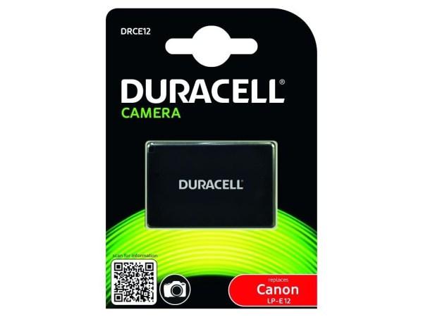 batteria compatibile duracell canon lp-e12 bigfototaranto