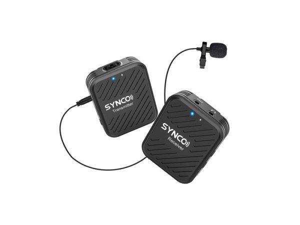 synco-g1-a1-microfono-wireless-lavalier-clip-fotocamera-smartphone-bigfototaranto