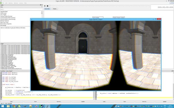 Oculus Rift support in Fugio