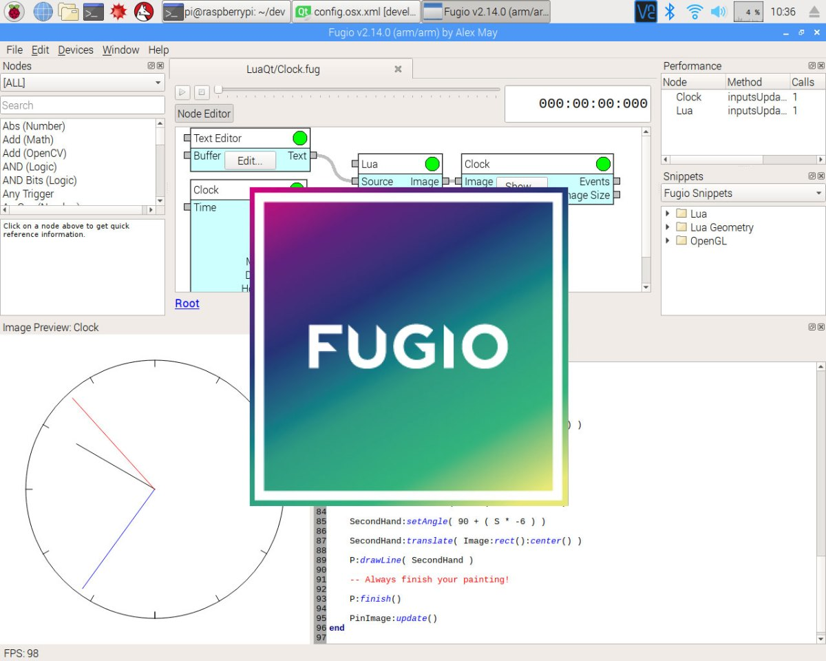 Fugio Friday: Raspberry Pi release