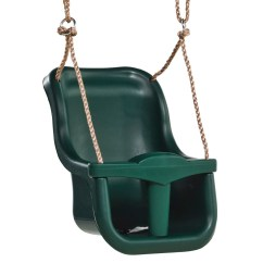 Swing Chair Game Upholstered Side Chairs High Back Baby Seat Green Big Hunters