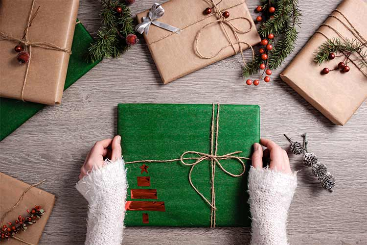 Green Gift Wrap Ideas Have A Greener Christmas Big Game Hunters Blog
