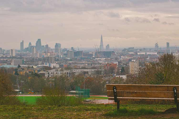 Hampstead Heath view London