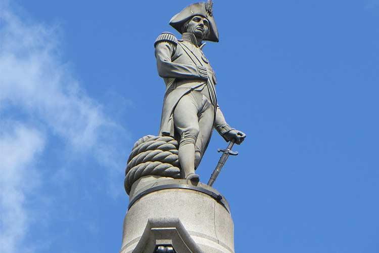 Nelson's Column - iconic London landmark