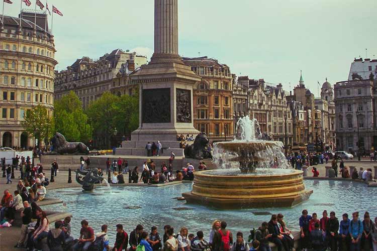 Trafalgar Square - iconic London landmark