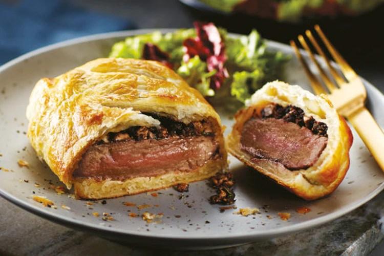 aldi valentine's meals: beef wellington