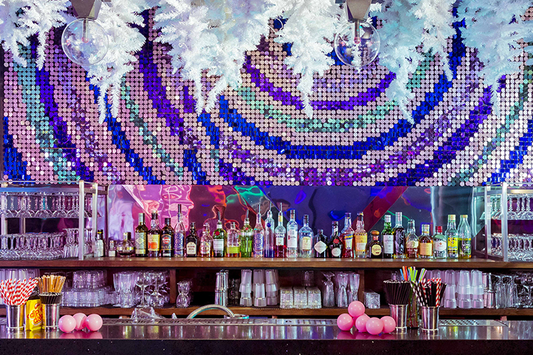 the bar at ballie ballerson the adult ball pit experience
