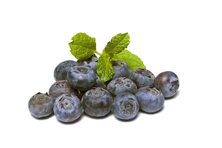 blueberries pancake day topping