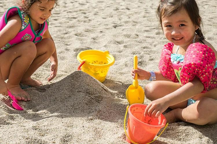 sandpits help with emotional development