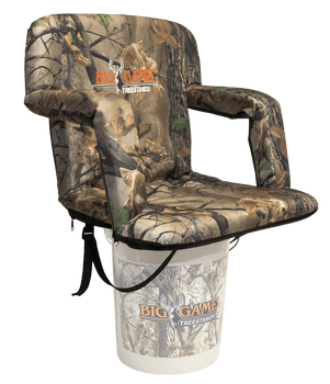 ground blind chair desk booster cushion blinds 101 guide to using big game treestands if the hunter plans sit extended hours or multiple days a fully adjustable will be better solution for