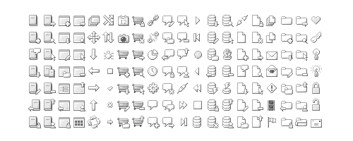 BWPX Icons by Paul Armstrong