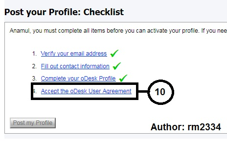 Odesk Profile Create Part: 10