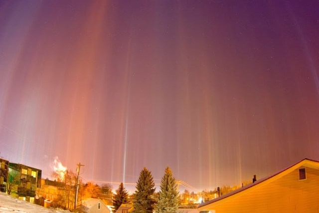 Light pillars o