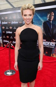Scarlett Johansson at The Avengers LA Premiere