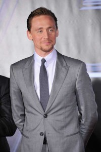 Tom Hiddleston at The Avengers LA Premiere