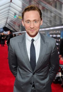 Tom Hiddleston at The Avengers LA Premiere